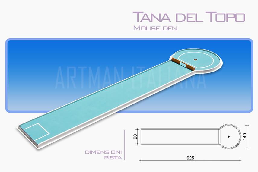 piste da minigolf prefabbricate -Miniatur Golf - Artman Italiana