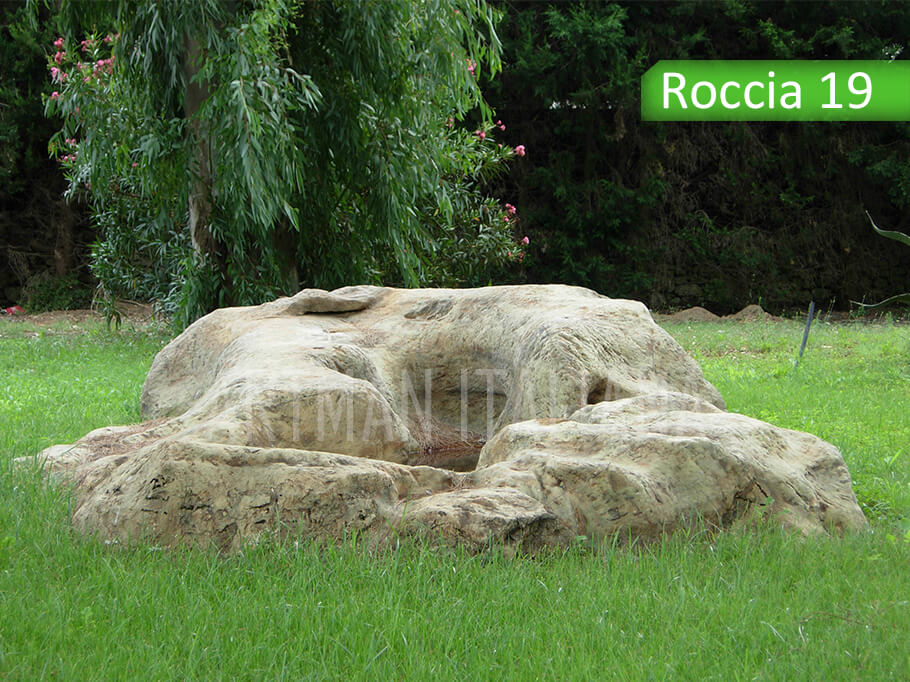 rocce artificiali - Artman Italiana